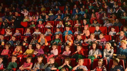 Filmlesung beim Goldenen Spatz in Gera 2014